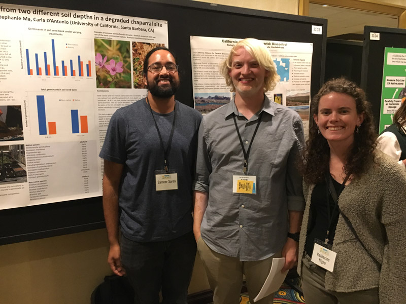 Students at the 2018 CNPS Conservation Conference.